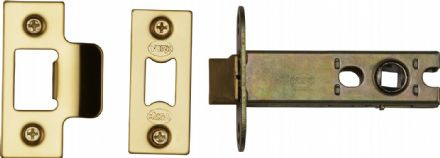 M Marcus York Security YKAL4-PB Architectural Mortice Latch 102mm Polished Brass